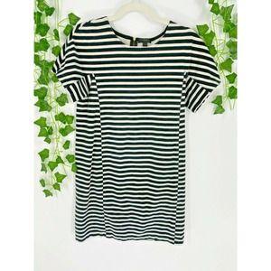 J Crew Striped T-Shirt Dress Short Sleeve